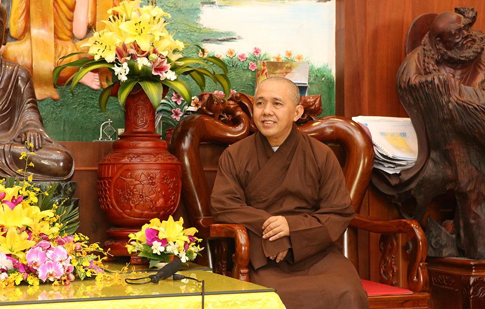 Thầy Trụ trì Thiền viện Sùng Phúc