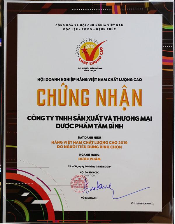 Viên Gout Tâm Bình - hàng Việt Nam chất lượng cao 2019