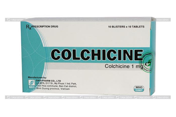 Thuốc colchicine - Bệnh gút có thể chữa khỏi không
