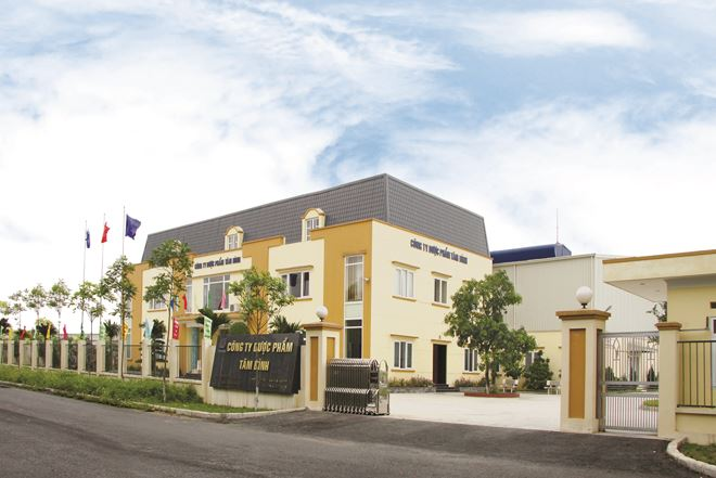 Nhà máy Dược phẩm Tâm Bình tại KCN Ninh Hiệp, Gia Lâm, Hà Nội