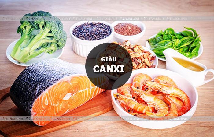 Thực phẩm giàu canxi rất tốt cho người bệnh xương khớp