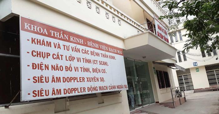 Khoa Thần kinh - Bệnh viện Mạch Mai khám đau thần kinh liên sườn