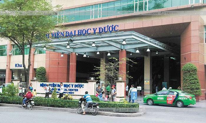 mổ thoát vị đĩa đệm ở bệnh viện Đại học Y Dược TP HCM