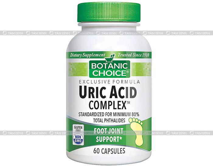 Uric Acid Complex là sản phẩm có nguồn gốc từ Mỹ