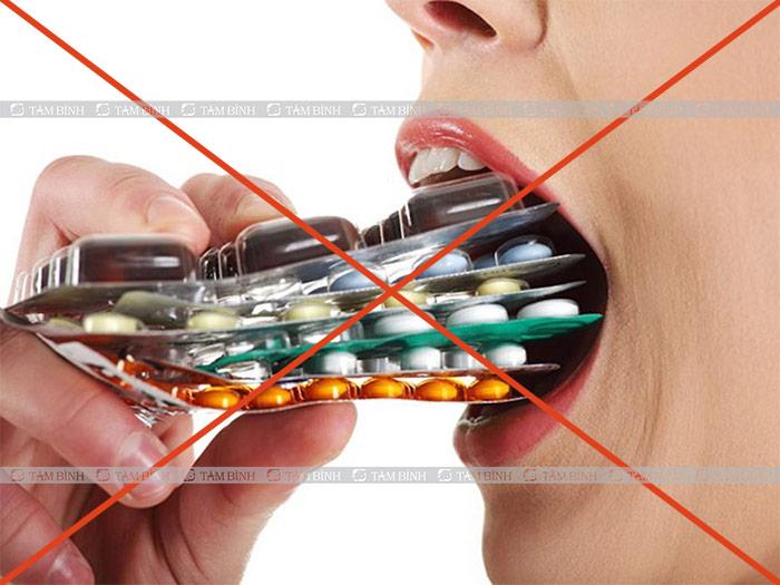 Không dùng thuốc với liều cao để tránh ngộ độc