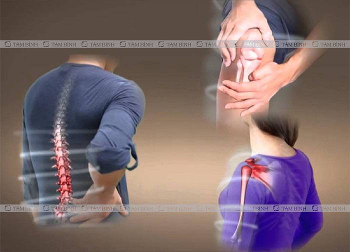 Đau nhức xương khớp là bệnh thường gặp ở người cao tuổi