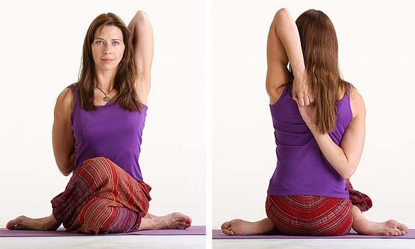 Bài tập tư thế mặt bò giúp co giãn cột sống lưng