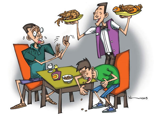 Ngộ độc thực phẩm là nguyên nhân hàng đầu dẫn tới đau bụng đi ngoài