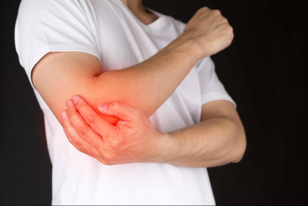 đau khớp khuỷu tay 1