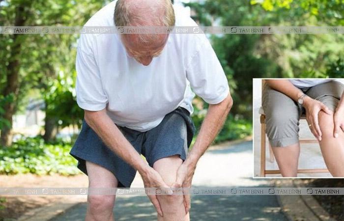 Tuổi tác là nguyên nhân hàng đầu khiến khớp gối bị thoái hoá