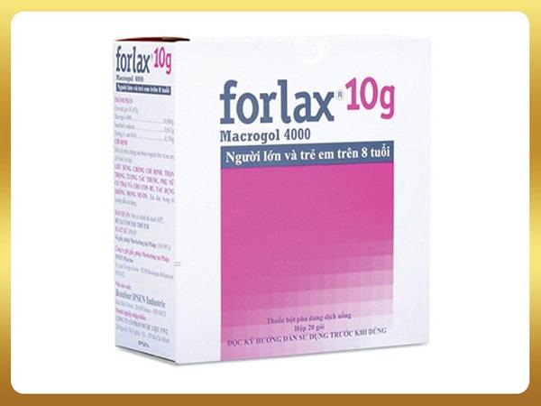 Thuốc Forlax điều trị táo bón