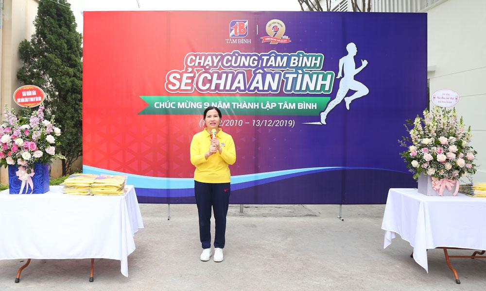 TGĐ Lê Thị Bình chia sẻ