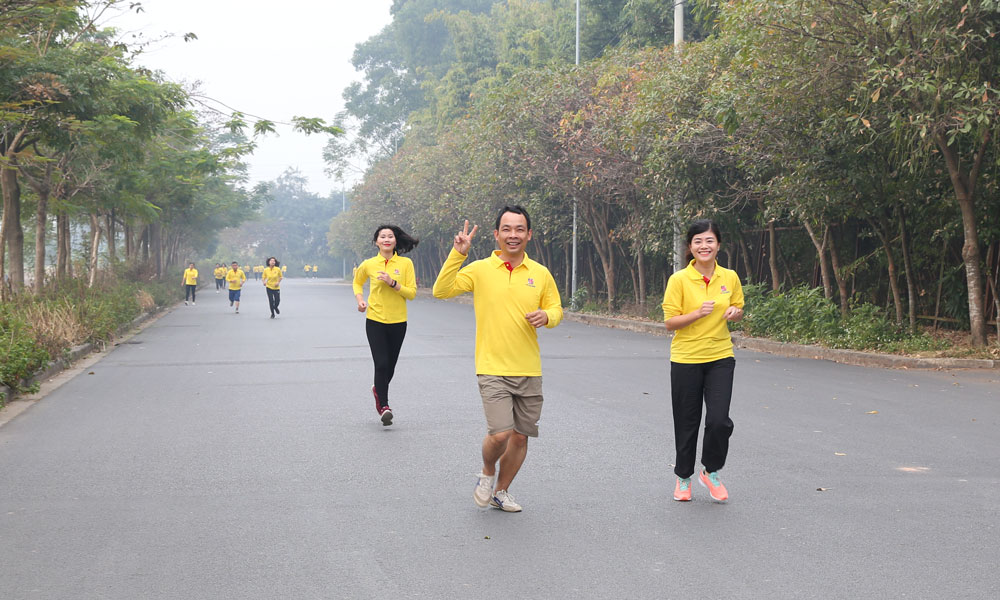 Chạy cùng Tâm Bình - sẻ chia ân tình