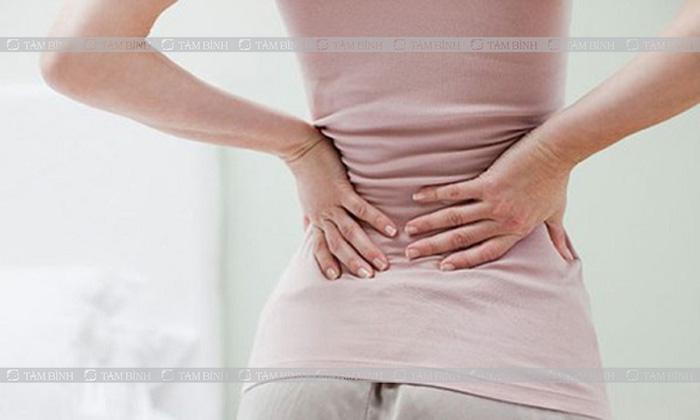 Đau lưng ở nữ giới