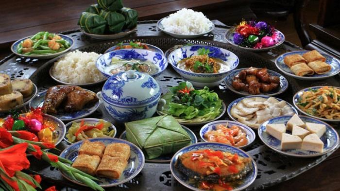 món ăn dễ gây tăng cân dịp tết