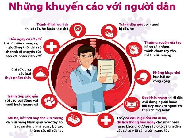 Phương pháp phòng, chống đại dịch virus corona theo kiến nghị của WHO