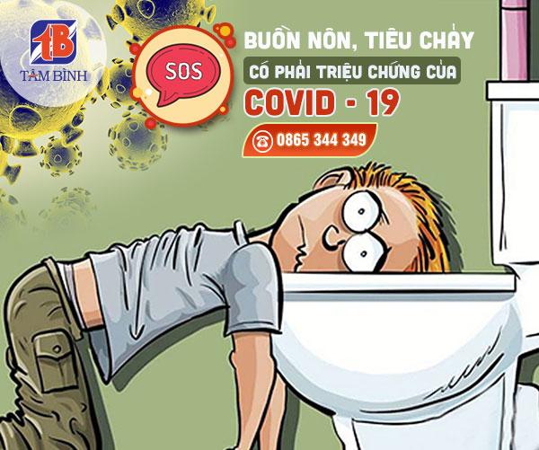 Buồn nôn, tiêu chảy có thể là triệu chứng của Covid-19