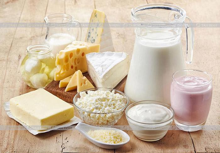 Sữa và các chế phẩm từ sữa - rối loạn tiêu hóa kiêng ăn gì và nên ăn gì