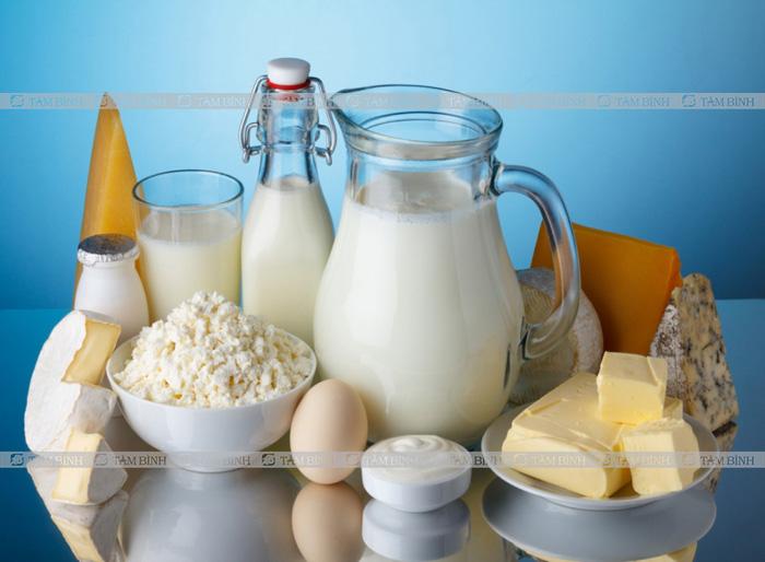 Thoái hóa khớp gối nên ăn gì và kiêng gì - Sữa