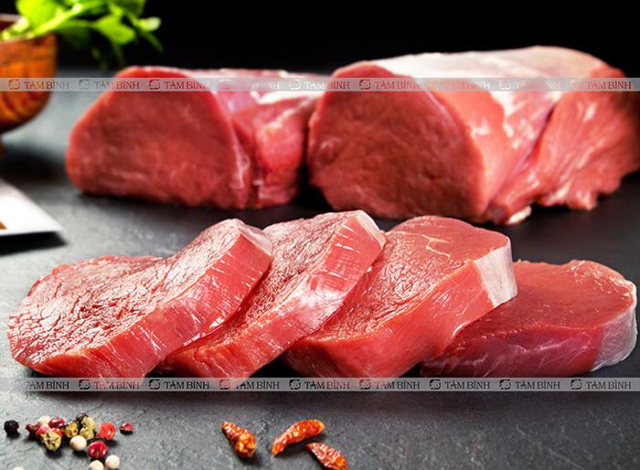 Thoái hóa khớp gối nên ăn gì và kiêng gì - Thịt đỏ