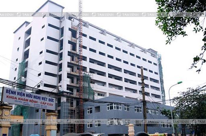 Bệnh nhân đau khớp gối có thể khám tại Bệnh viện Việt Đức
