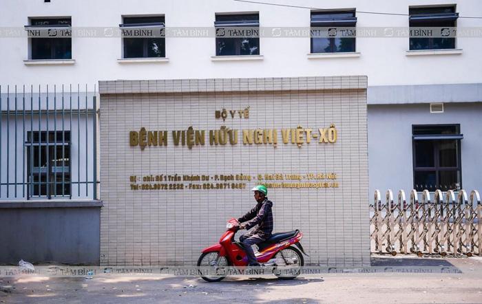 Bệnh viện Hữu nghị Việt Xô là địa chỉ khám đau khớp gối uy tín tại Hà Nội
