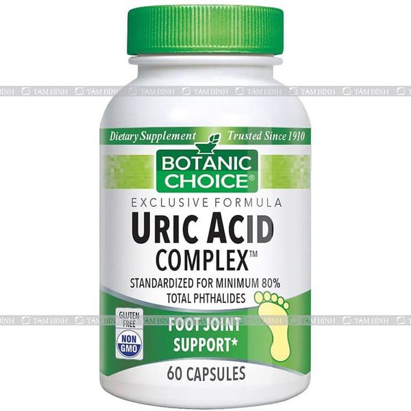 thuốc trị gout uric acid complex