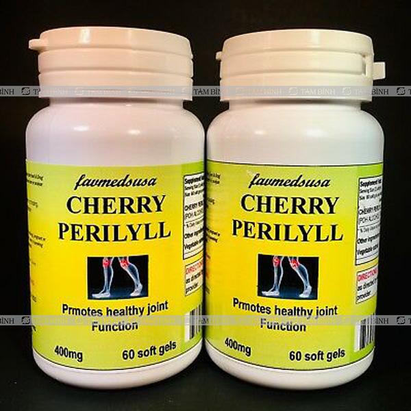 Thực phẩm chức năng hỗ trợ trị gout Cherry Perillyl