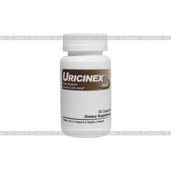 Sản phẩm hỗ trợ điều trị bệnh gout Uricinex Normal Uric Acid