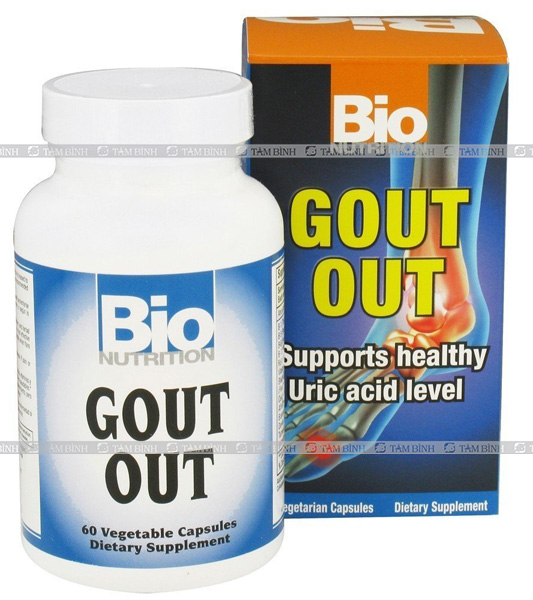 Viên uống Bio Nutrition Gout Out Vegetable Capsules