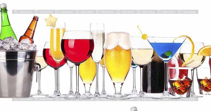 Khô khớp gối nên kiêng - đồ uống có cồn
