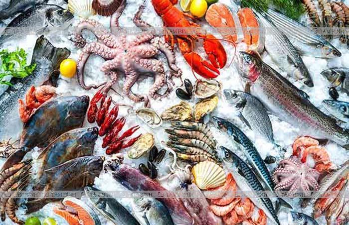 Hải sản làm tăng axit uric máu