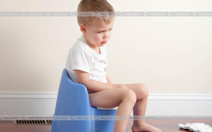 Táo bón ở trẻ em
