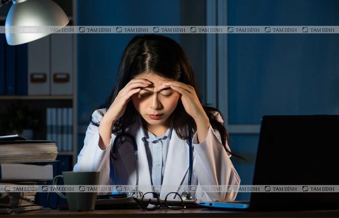 Người bệnh cảm thấy mệt mỏi, cơ thể suy nhược