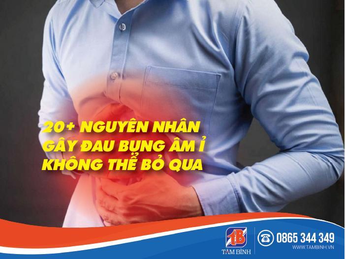 Nguyên nhân gây đau bụng âm ỉ