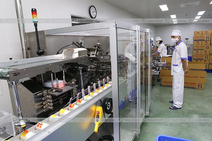 Đóng gói sản phẩm nhà máy gmp