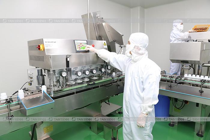 Dây chuyền sản xuất nhà máy GMP