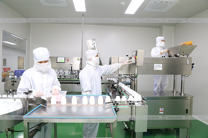 sản xuất nhà máy gmp