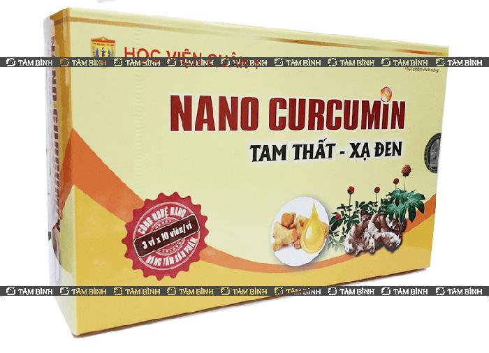 nano-curcumin tam thất xạ đen