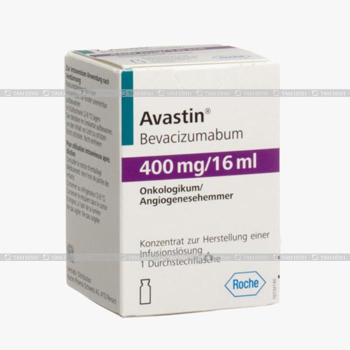 Thuốc Bevacizumab để khống chế sự phát triển của khối u