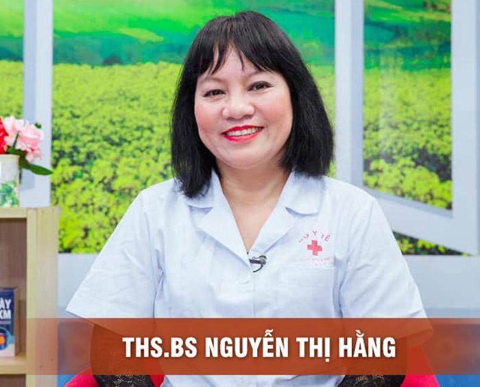 TTƯT, Ths.Bs. Nguyễn Thị Hằng đứa ra lời khuyên