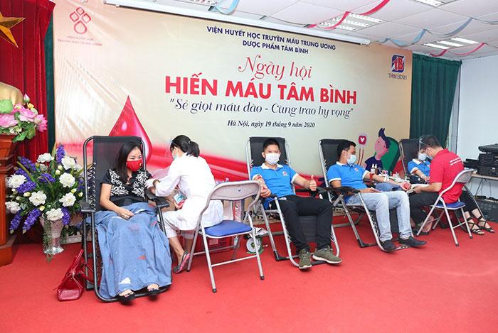 Ngày hội Hiến máu Tâm Bình - 4