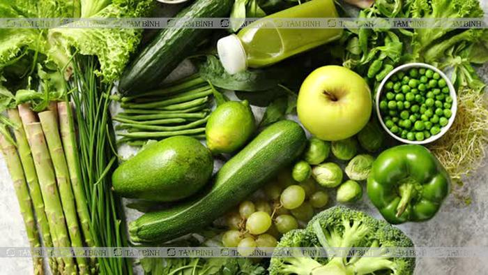 tăng cường rau xanh