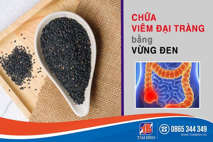 Vừng đen được sử dụng nhiều trong các bài thuốc chữa viêm đại tràng