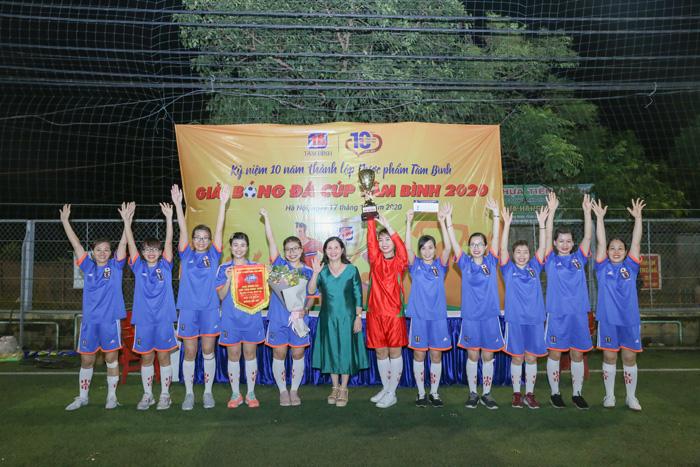 Giải bóng đá Tâm Bình 5