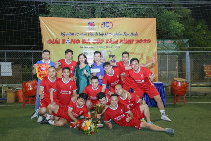 Giải bóng đá Tâm Bình 6