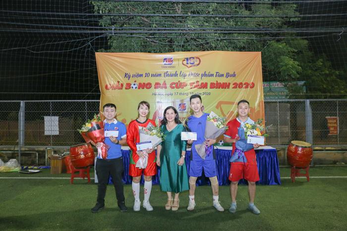 TRao giải Giải bóng đá Tâm Bình