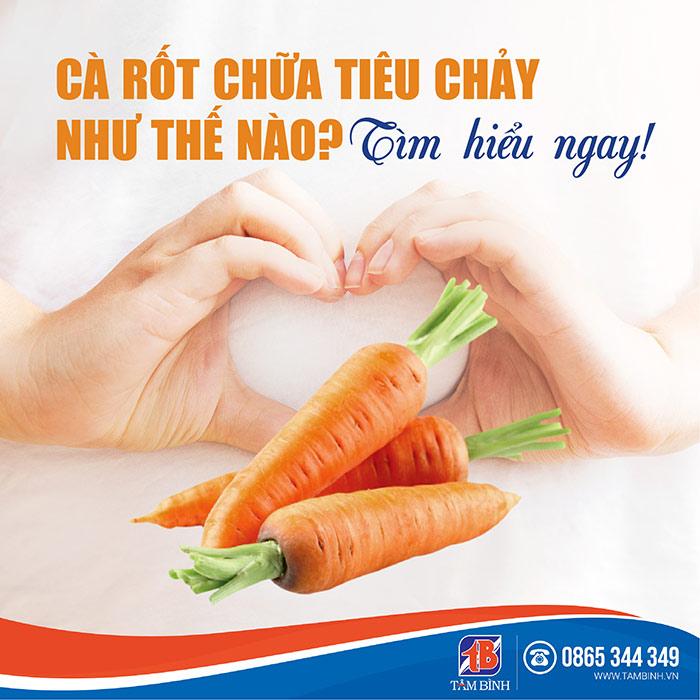 Cà rốt chữa tiêu chảy như thế nào