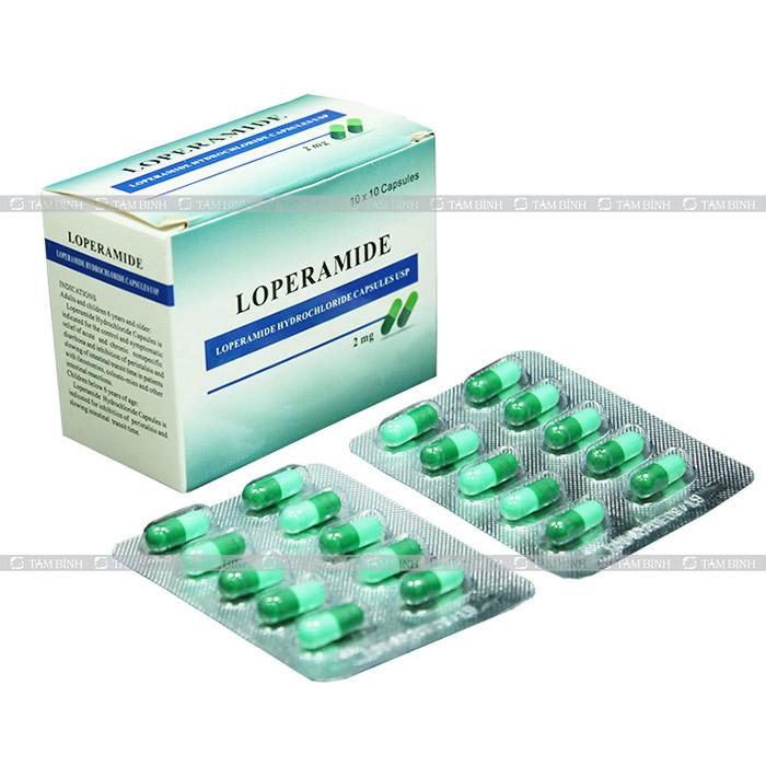 Thuốc cầm tiêu chảy Loperamide