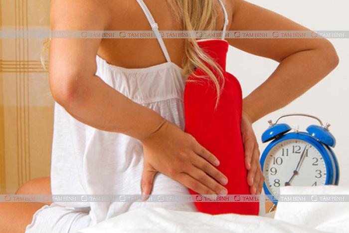 Chườm chữa đau lưng tại nhà